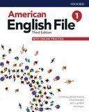 American English File 1. Student's Book with online practice / 3 ed.