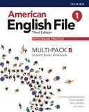 American English File 1. Multipack B with online practice / 3 ed.