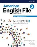 American English File 2. Multipack B with online practice / 3 ed.