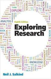 EXPLORING RESEARCH / 8 ED.