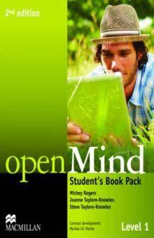 OPENMIND LEVEL 1 STUDENTS BOOK PACK STANDAR / 2 ED.