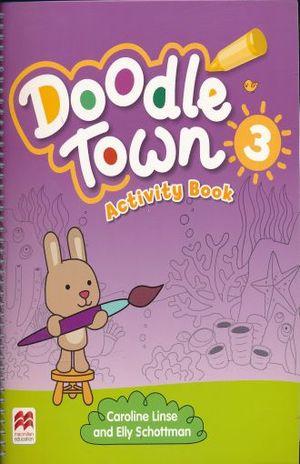 DOODLE TOWN 3 ACTIVITY BOOK