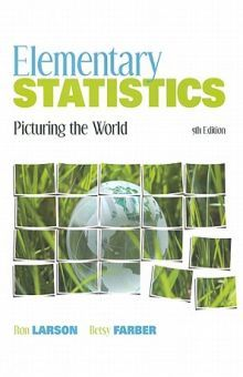 ELEMENTARY STATISTICS. PICTURING THE WORLD / 5 ED. / PD.