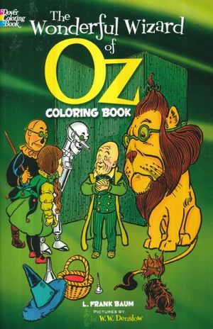 WONDERFUL WIZARD OF OZ, THE. COLORING BOOK