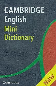 CAMBRIDGE ENGLISH MINI DICTIONARY