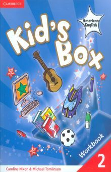 KIDS BOX AMERICAN ENGLISH 2. WORKBOOK ( INCLUYE CD )