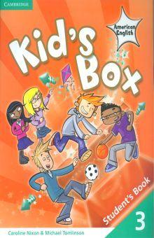 KIDS BOX AMERICAN ENGLISH 3. STUDENTS BOOK