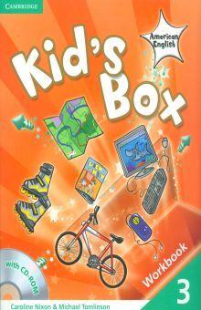 KIDS BOX AMERICAN ENGLISH 3. WORKBOOK (INCLUYE CD)