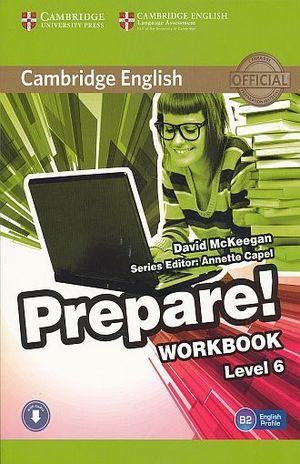 PREPARE WORKBOOK LEVEL 6. BACHILLERATO