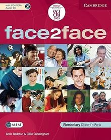 FACE 2 FACE. ELEMENTARY STUDENTS BOOK (INCLUYE CD ROM)