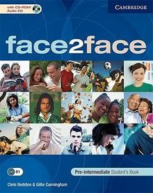 FACE 2 FACE. PRE-INTERMEDIATE STUDENTS BOOK (INCLUYE CD ROM)