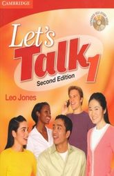 LETS TALK 1. STUDENT BOOK / 2 ED. / (INCLUYE CD)