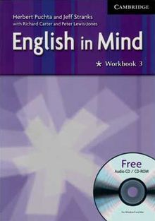 ENGLISH IN MIND 3 WORKBOOK (INCLUYE CD)