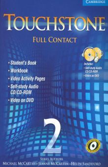 TOUCHSTONE FULLCONTACT 2 STUDENTS BOOK (INCLUYE DOS CD)