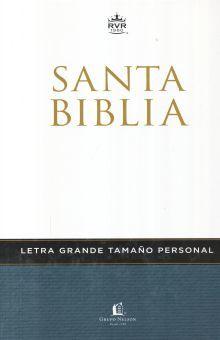 SANTA BIBLIA LETRA GRANDE TAMAÑO PERSONAL / PD.