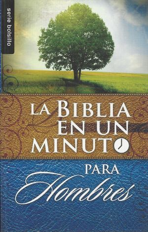 Biblia en un minuto para hombres (Bolsillo)