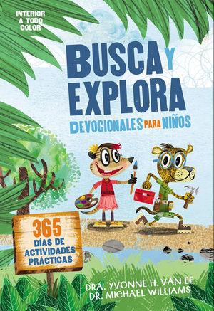 Busca y explora. Devocionales para niños