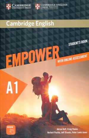 EMPOWER A1 STUDENTS BOOK / WITH ONLINE ASSESSMENT AND PRACTICE STARTER