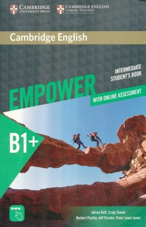 EMPOWER B1 INTERMEDIATE STUDENTS BOOK / WITH ONLINE ASSESSMENT AND PRACTICE INTERMEDIATE