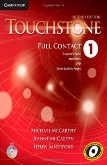 TOUCHSTONE 1 FULL CONTACT / 2 ED. (WITH DVD)