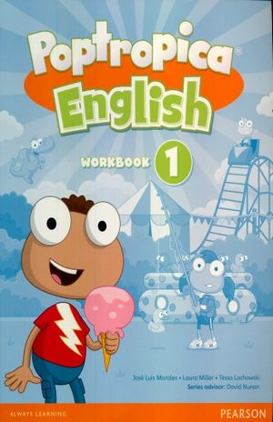 POPTROPICA ENGLISH 1 WORKBOOK (WITH AUDIO CD)