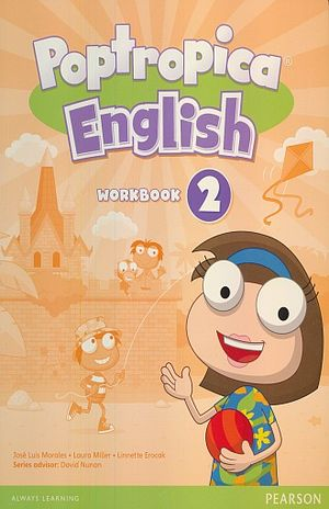 POPTROPICA ENGLISH 2 WORKBOOK (WITH AUDIO CD)