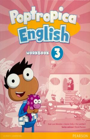 POPTROPICA ENGLISH 3 WORKBOOK (WITH AUDIO CD)
