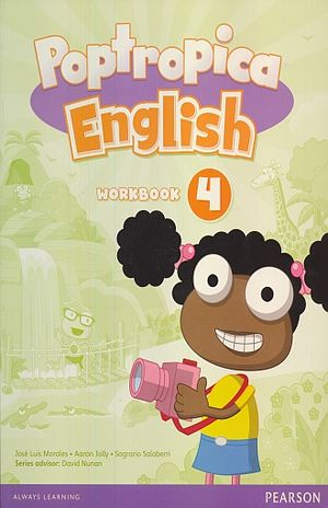 POPTROPICA ENGLISH 4 WORKBOOK (WITH AUDIO CD)