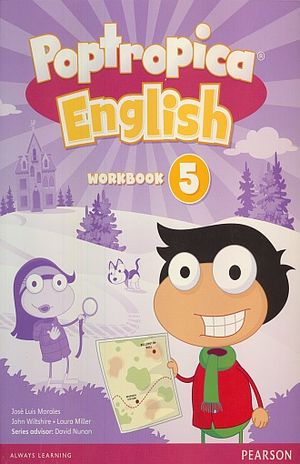 POPTROPICA ENGLISH 5 WORKBOOK (WITH AUDIO CD)