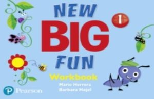 PAQ. NEW BIG FUN WORKBOOK AND WORKBOOK LEVEL 1 / INCLUYE AUDIO CD PACK LEVEL