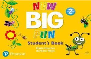 PAQ. NEW BIG FUN STUDENT BOOK LEVEL 2 / INCLUYE CD-ROM