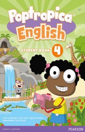 POPTROPICA ENGLISH AMERICAN STUDENT BOOK 4 / POPTROPICA ENGLISH WORLD ACCESS CARD LEVEL 4