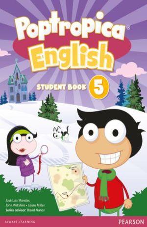 POPTROPICA ENGLISH AMERICAN STUDENT BOOK 5 / POPTROPICA ENGLISH WORLD ACCESS CARD LEVEL 5