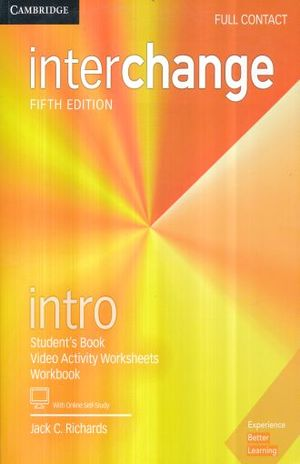 INTERCHANGE INTRO FULL CONTACT WITH ONLINE SELF STUDY / 5 ED