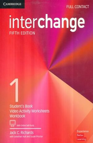 INTERCHANGE 1 FULL CONTACT WITH ONLINE SELF STUDY / 5 ED