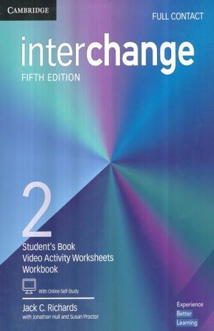 INTERCHANGE 2 FULL CONTACT WITH ONLINE SELF STUDY / 5 ED