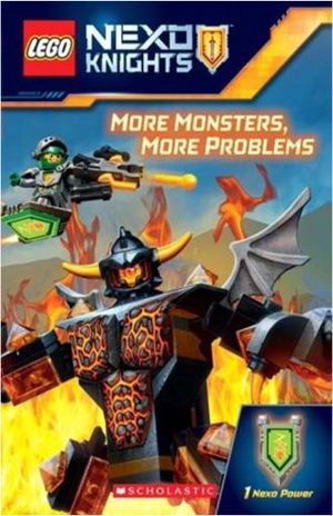 LEGO NEXO KNIGHTS. MORE MONSTERS MORE PROBLEMS / 1 NEXO POWER
