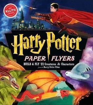 HARRY POTTER PAPER FLYERS / KLUTZ