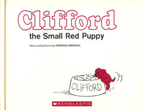 Clifford the small red puppy (Vintage hardcover edition) / pd.