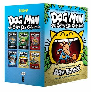 Dog Man. The Supa Epic Collection. From the Creator of Captain Underpants (Dog Man #1-6 Boxed Set) / pd.