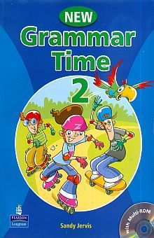 GRAMMAR TIME NEW EDITION STUDENTS BOOK LEVEL 2 (INCLUYE CD ROM)