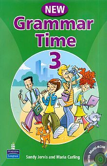 GRAMMAR TIME NEW EDITION STUDENTS BOOK LEVEL 3 (INCLUYE CD ROM)