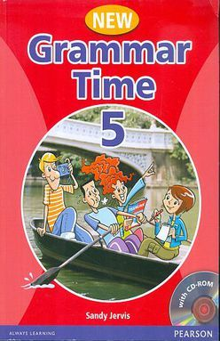 GRAMMAR TIME 5 STUDENTS BOOK (WITH CD ROM)