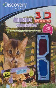 ANIMALES ENCANTADORES. DISCOVERY 3D (INCLUYE LENTES 3D)