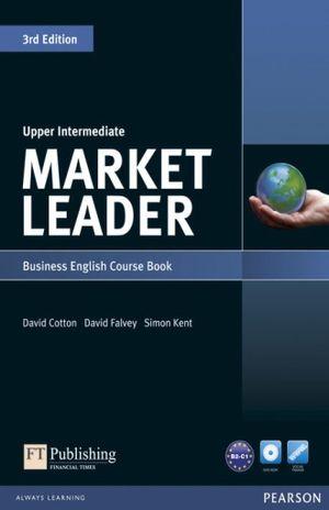 MARKET LEADER UPPER INTERMEDIATE / 3 ED. (COURSEBOOK WITH DVD - ROM PACK)