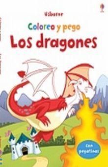DRAGONES, LOS. COLOREO Y PEGO