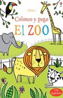 ZOO, EL. COLOREO Y PEGO