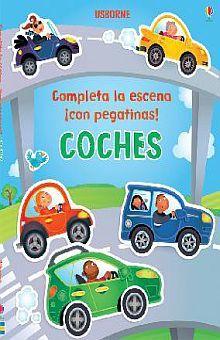 COCHES. COMPLETA LA ESCENA CON PAGATINAS