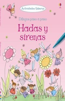 HADAS Y SIRENAS. DIBUJOS PASO A PASO