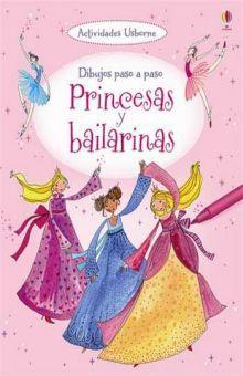 Dibujos paso a paso. Princesas y bailarinas